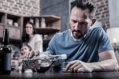 Alcohol or substance abuse can significantly worsen and trigger addiction.